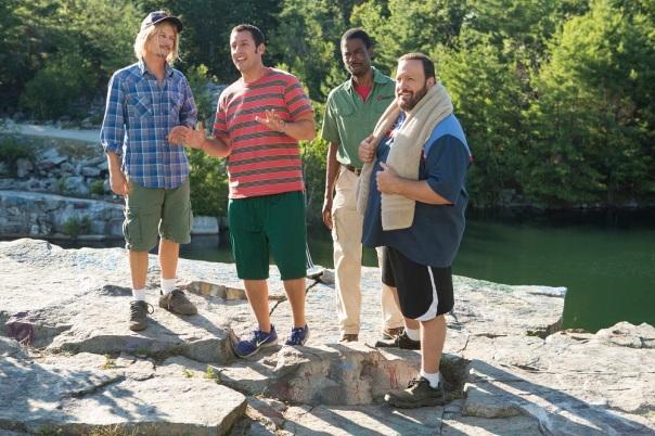 Adam Sandler;Chris Rock;David Spade;Kevin James