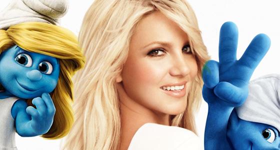 Britney-Spears-smurfs