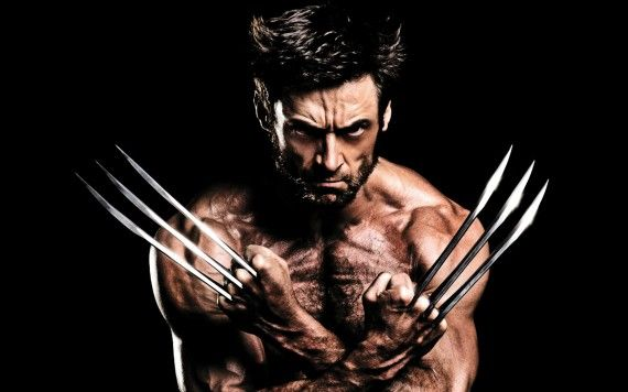Hugh-Jackman-Muscles-Claws-in-The-Wolverine-570x356
